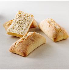 WT Ciabatta Sandwich Plain 6″