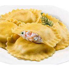 Shrimp and Crab Ravioli