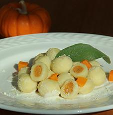 Gnocchi Filled Butternut Squash
