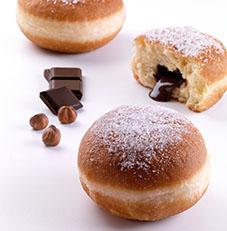 Bomboloni With Chocolate Hazelnut