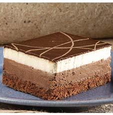 Chocolate Duet Sheet Cake