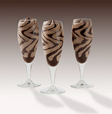 Hazelnut Chocolate Flute