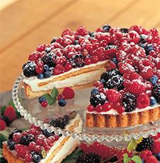 Frutta Di Bosco (Mixed Berry Cake) (Uncut)