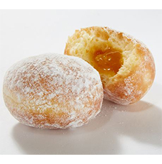 French Mini Beignet Filled With Passion Fruit