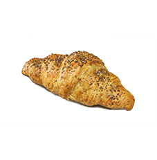 Vegan Croissant With Chia Seeds