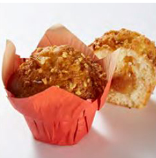 Large Muffins Filled With Caramel