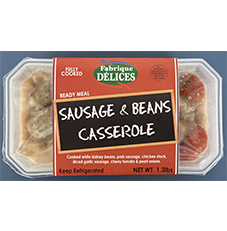 Ready Meal Sausage & Bean Casserole 6ct