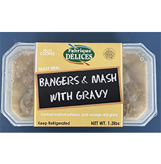 Ready Meal Bangers & Mash 6ct