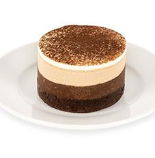 Crunchy Mocha Mousse Cake