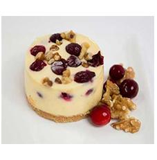 Cranberry Cheesecake 3″