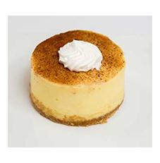 Egg Nog Cheesecake 3″