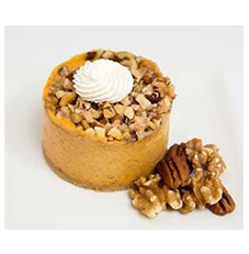 Pumpkin Praline Cheesecake 3″