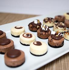 Mini Cheesecakes Chocolate