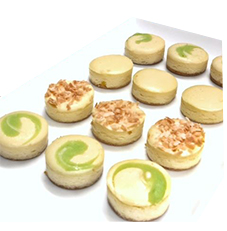 Mini Cheesecakes Tropical